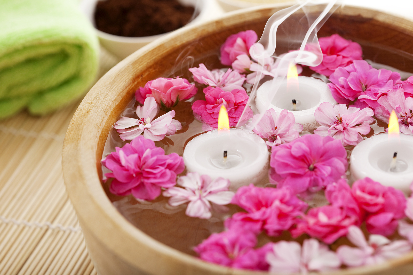 bigstock Image of spa therapy flowers 26991908 - Gift Vouchers