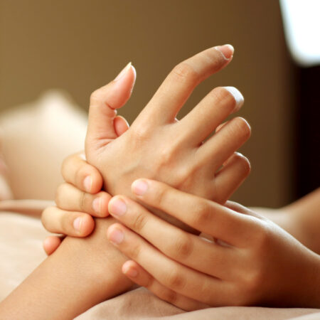 hand massage 3 450x450 - Mother's Day Deluxe Hand Treatment Gift Voucher