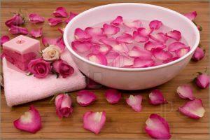 rose petal facial 2