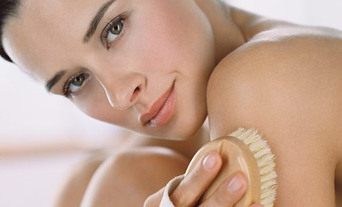 body brushing 495x300 - Winter Skin Care Tips