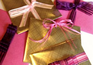 handmade special gift wrapping